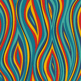 Abstract wavy vector background Royalty Free Stock Photography