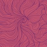 Abstract wavy vector seamless pattern in elegant Royalty Free Stock Photography