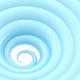 Abstract wavy vortex twirl background Stock Images