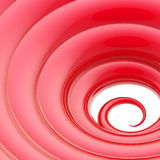 Abstract wavy vortex twirl background Stock Photo