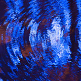 Abstract wavy water surface Stock Photos