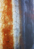 Abstract wear patterns on metal Royalty Free Stock Images