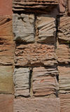 Abstract of weathered sandstone wall Royalty Free Stock Image