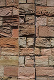 Abstract of weathered sandstone wall Royalty Free Stock Photo