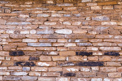 Abstract weathered stone brick wall background Stock Photography