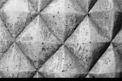 Abstract weathered texture - light gray and white concrete wall. Background, grungy blocks of stonework technology architecture wallpaper royalty free stock photo