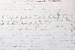 Abstract weathered texture stained old stucco light gray and aged paint white brick. Wall background Stock Images