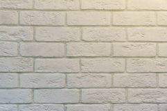 Abstract weathered texture stained old stucco light gray and aged paint white brick wall background in rural room.  royalty free stock photography