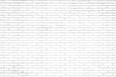 White brick wall background in rural room, stock photos