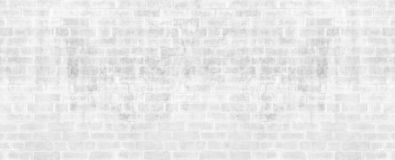 Abstract weathered texture stained old stucco light gray and aged paint white brick wall background in rural room, grungy rusty bl. Ocks of stonework technology royalty free stock photography