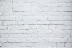 Abstract weathered texture stained old stucco light gray and aged paint white brick wall background in rural room Royalty Free Stock Image