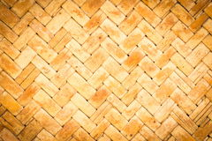 Abstract weave bamboo texture background Royalty Free Stock Photo