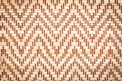 Abstract weave bamboo texture background Royalty Free Stock Image