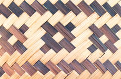 Abstract weave bamboo texture background Stock Photo