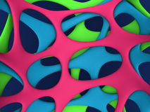 Abstract web background. Abstract colors web background 3d illustration Stock Images