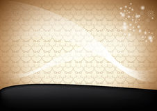 Abstract web background template with ornaments Stock Image