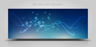 Abstract web banner Stock Photo