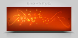 Abstract web banner Royalty Free Stock Photography