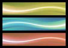 Abstract web banner Stock Photography