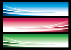 Abstract web banner. For multimedia usage Royalty Free Stock Image
