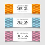 Abstract Web banner design background or header Templates. Abstract Web banner design background or header Templates stock illustration