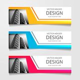 Abstract Web banner design background or header Templates. Abstract Web banner design background or header Templates royalty free illustration