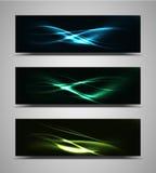 Vector abstract web banner Stock Photo