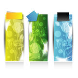 Abstract web banner or header for advertisement Royalty Free Stock Images