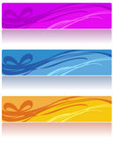 Abstract web banners Stock Photo