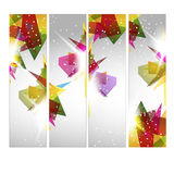 Abstract web banners Royalty Free Stock Photography