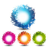 Abstract web banners Royalty Free Stock Photo