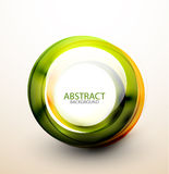 Abstract web bubble banner Royalty Free Stock Image