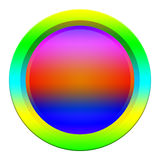 Abstract web button Stock Photography