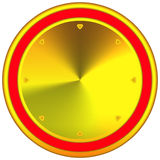 Abstract web button Stock Photo
