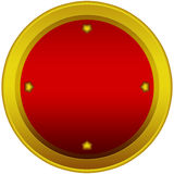 Abstract web button Stock Image
