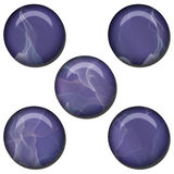 Abstract Web Button Set Stock Photography
