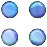 Abstract Web Button Set. High Resolution 3D Illustration Abstract Web Button Set Stock Photo