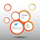 Abstract web design bubble Stock Photography