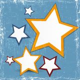 Abstract web design star. S for your business Stock Images