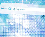 Abstract Web Future Science Background Texture. Blue Abstract Web Future Science Background Texture stock illustration