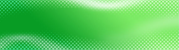 Abstract Web header / Banner. Green halftone Website banner. digitally generated illustration for web site headers Royalty Free Stock Photo