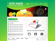 Abstract web template Stock Photo