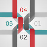 Abstract web template. Royalty Free Stock Images