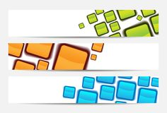 Abstract website banner or header Stock Photography