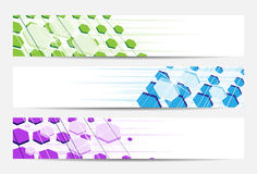 Abstract website banner or header Stock Image