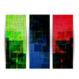 Abstract website header or banner Royalty Free Stock Photography
