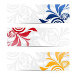 Abstract website header or banner Royalty Free Stock Images