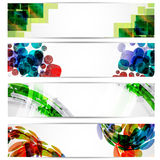 Abstract website header or banner Stock Photos