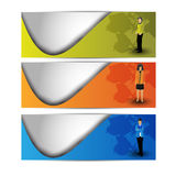 Abstract website header or banner.Vector Royalty Free Stock Photography
