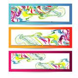 Abstract website header or banner.Vector Stock Photo